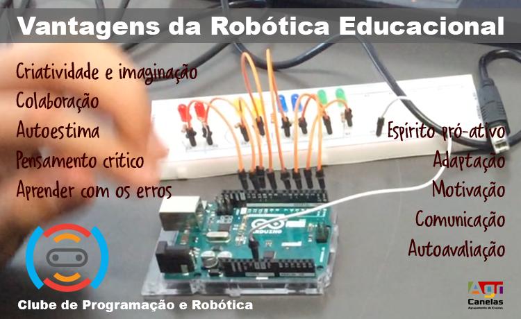 Vantagens da robótica educacional