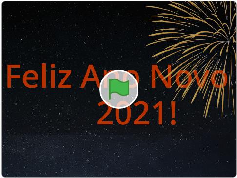 Bom ano novo!