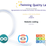 "Projeto eTwinning ""Robotic Coding"""